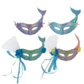 24 of Adult Mermaid Carnival Mask