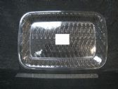 72 of PL. CLEAR TRAY RECT. DIAG. LINES 36PC/C