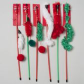 72 of Christmas Cat Toy Wand