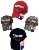 24 of Trump 2020 with American Flag on Bil