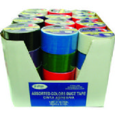 54 of ECONOMY DUCT TAPE ASSORTED COLOR