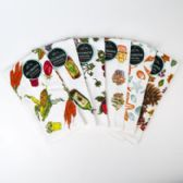 72 of Kitchen Towels 15 X 25 6 Assorted Prints