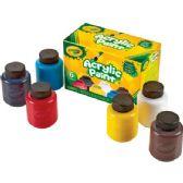 66 of Crayola 6-color Acrylic Paint Set