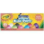 66 of Crayola 10-color Neon Washable Kids Paint
