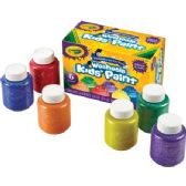 66 of Crayola 6-color Glitter Washable Kids Paint