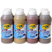 22 of Crayola Washable Paint 8-pack