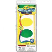 108 of Crayola Washable Nontoxic 4 Watercolor Set