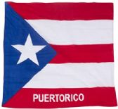 600 of Cotton Country Theme Puerto Rico Bandana