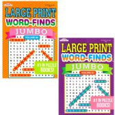 48 of Jumbo Large Print Word Finds