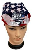 24 of Trump 2020 Train Flag style Bandana