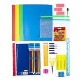 12 of 48 Piece Deluxe Kids Bulk School Supply Kits