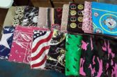 600 of Assorted Cotton Paisley Bandana Mixed Prints, Mixed Colors BULK Bandannas