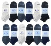 60 of Yacht & Smith Womens Cotton Low Cut No Show Loafer Socks Size 9-11 Solid Assorted