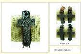 60 of Wholesale Metal Cross Faux Leather Bracelet