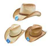 24 of Classic Woven Cowboy Hat [Thin Braided Hat Band]