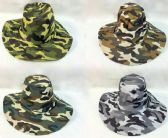 24 of Wholesale Camo Boonie/ Fishing Hat