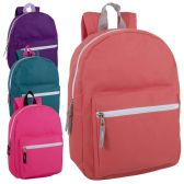 24 of 15 Inch Basic Backpack For Girls