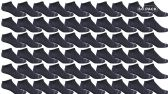 60 of Yacht & Smith Kids Poly Blend Light Weight No Show Ankle Socks Solid Navy Size 6-8