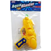 "48 of 7"" WATER GUN IN POLY BAG W/ HEADER, 3 ASSRT CLRS"