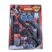 12 of Ten Piece SWAT Force Police Playset
