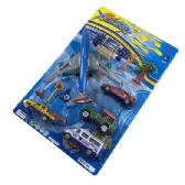12 of 13 Piece Airplane Vehicle Play Set