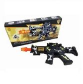 12 of Camo Machine Gun Sound Light Toy Gun