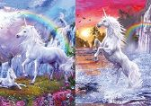 100 of 3D Picture Unicorns with Rainbows