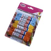 36 of Six Pair Colorful Shoe Lace Flat