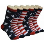 360 of Ladies American Pride Crew Socks Size 9-11
