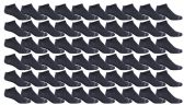 60 of Yacht & Smith Men's Poly Blend Light Weight No Show Loafer Ankle Socks Solid Navy