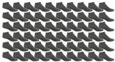60 of Yacht & Smith Men's Poly Blend Light Weight No Show Loafer Ankle Socks Solid Gray