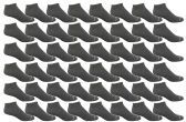 48 of Yacht & Smith Men's Poly Blend Light Weight No Show Loafer Ankle Socks Solid Gray