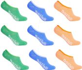 12 of Women's Mesh No Show/Silicone No Slip Loafer Sock Liner (Pastel)