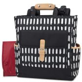 12 of Baby Essentials Tote Convertible Backpack Black