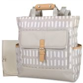 12 of Baby Essentials Tote Convertible Backpack Grey