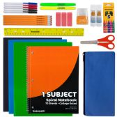 24 of 30 Piece School Supply Kit