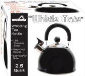 8 of Stainless Steel Whistling Tea Kettle Black