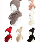 24 of Womens Beanie Hat And Scarf Set Cute Winter Ski Hat Slouchy