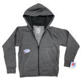 24 of Hanes Kids ComfortBlend EcoSmart Full-Zip Hoodie Sweatshirt, With Media Pockets Size XXL