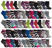 480 of Yacht & Smith Womens Low Cut, No Show Ankle Footie Casual Sock Fun Socks Assorted Printed Ankle Socks Size 9-11