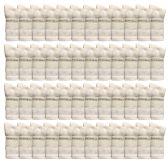 60 of Womens Sports Crew Socks, Wholesale Bulk Pack Athletic Sock, by SOCKSNBULK (White, 9-11)