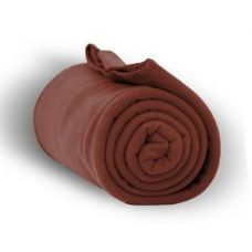 24 of Fleece Blankets/Throw - Cocoa