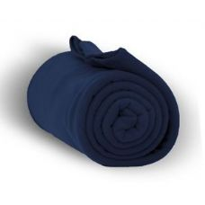 24 of Fleece Blankets/Throw - Navy