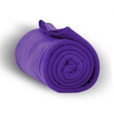 24 of Fleece Blankets/Throw - Purple