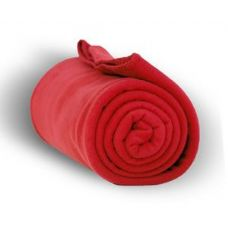 24 of Fleece Blankets/Throw - RED