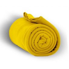 24 of Fleece Blankets/Throw - Taxi Yello
