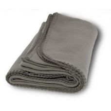 36 of Promo Fleece Blanket / Throws - Gray