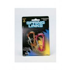 72 of 2 Pack Spring Links (assorted Colors)