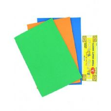 72 of Foam Craft Sheets 3 Pack