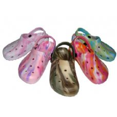 36 of Children's Tie-Dye Garden Clogs